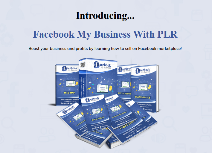Facebook My Business with PLR Review