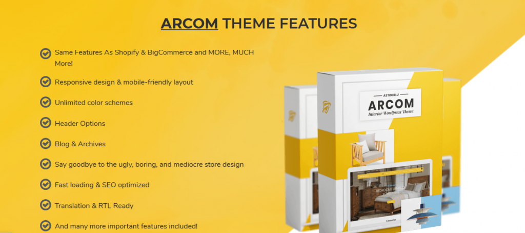 ARCOM WordPress Theme REVIEW